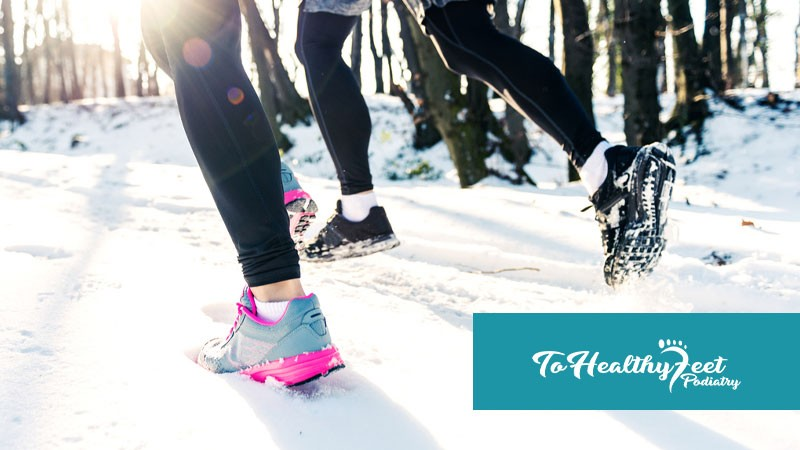 Our Tips To Taking Care of Your Feet While Running In The Cold